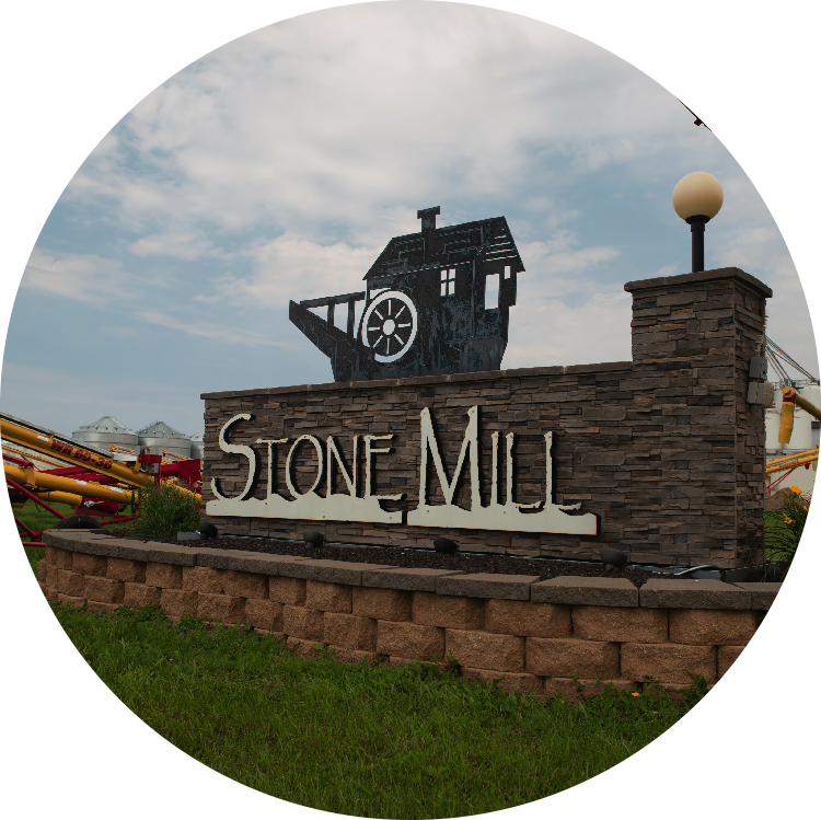 Stone Mill Sign
